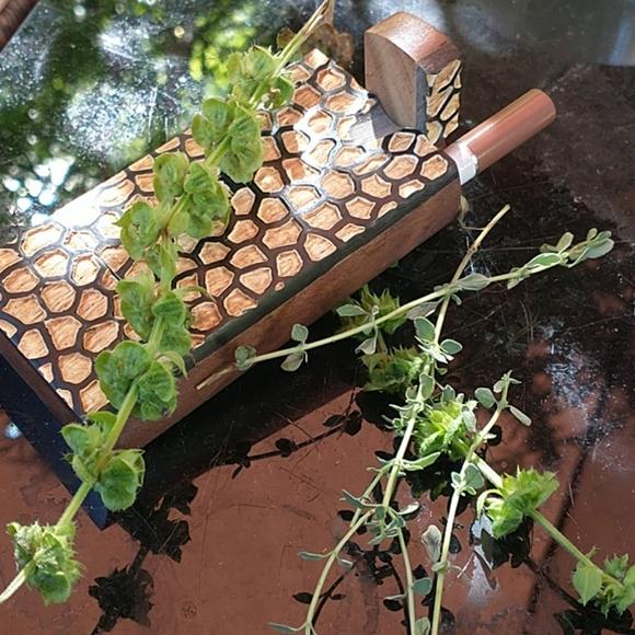 NWOT Wooden Herbal Box